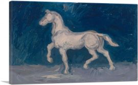 Plaster Statuette of a Horse 1886