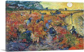 The Red Vineyard at Arles 1888