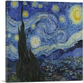 The Starry Night - Square 1889