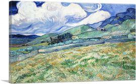 Wheat Field Behind Saint-Paul 1889