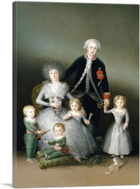 The Duke of Osuna and His Family 1788