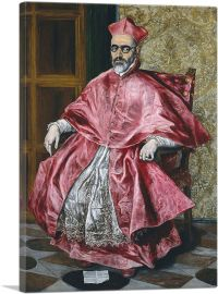 Portrait of the Cardinal Guevarra 1604