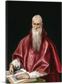Saint Jerome as Scholar