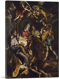 The Adoration of the Shepherds 1614