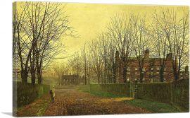 Autumn Afterglow 1883