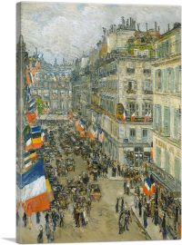 July Fourteenth - Rue Daunou 1910