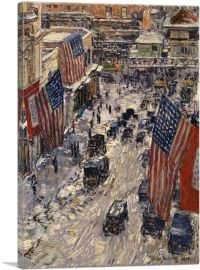 Flags on 57th Street 1918