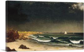 Approaching Storm Beach Near Newport 1862