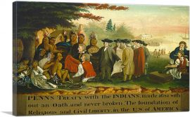 Penn's Treaty With the Indians 1844