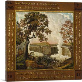 The Falls of Niagara 1825