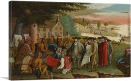 Penn's Treaty With the Indians 1840