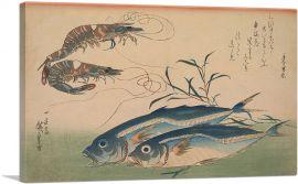 Horse Mackerel with Shrimp or Prawn 1833
