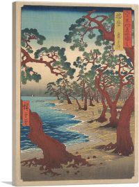 Maiko Beach - Harima Province 1853