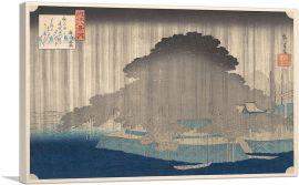 Night Rain at Karasaki 1835