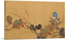 Autum Blue Flowers