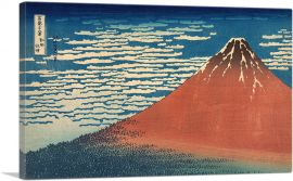 Fine Wind, Clear Weather - Red Fuji 1831