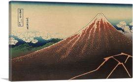 Lightning Below The Summit - Storm below Mount Fuji 1832
