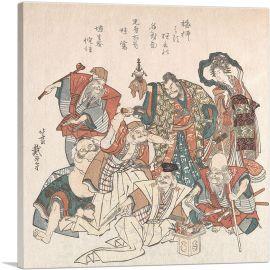 Seven Gods of Good Fortune 1808