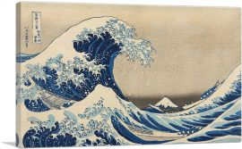The Great Wave off the Coast of Kanagawa 1829