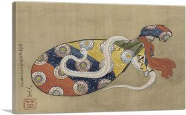 The Lute and White Snake of Benten 1847