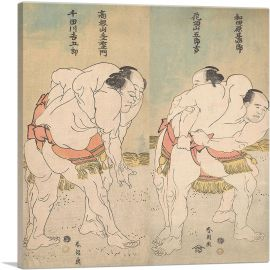 The Sumo Wrestlers 1783