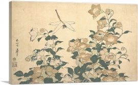 Dragonfly and Bellflower 1820