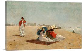 East Hampton Beach - Long Island 1874