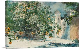 Orange Trees and Gate 1885