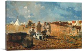 Rainy Day in Camp 1871