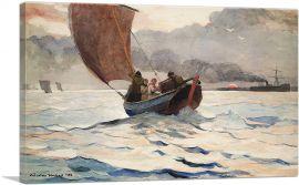Returning Fishing Boats 1883