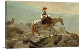 The Bridle Path - White Mountains 1868