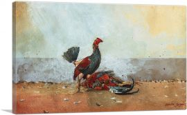 The Cock Fight 1885