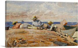 Three Boys on the Shore 1873