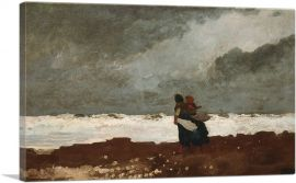 Two Figures by the Sea 1882