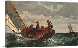 Breezing Up - A Fair Wind 1876