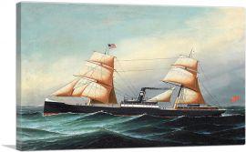 A British Sail and Steam Vessel at Sea