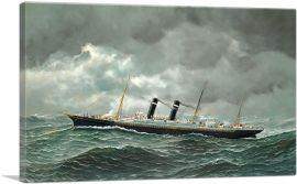 The S.S. Philadelphia at Sea