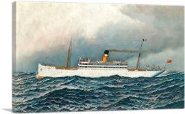 The S.S. Zacapa at Sea