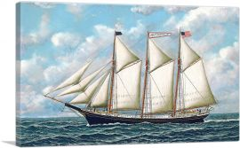The Three-Masted American Schooner