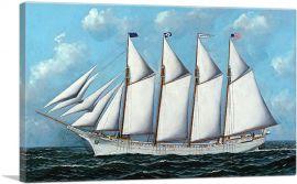 Portrait of the Ship Anna R. Heidritter