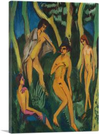 Four Nudes Under a Tree 1913