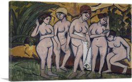 Frauen im Bade 1911