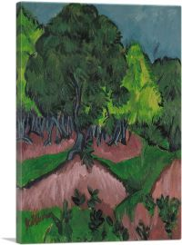 Landscape with Chestnut Tree 1913
