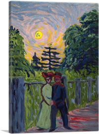 Moonrise - Soldier and Maiden 1905