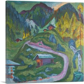 Mountain Path 1921