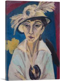 Portrait d'Erna Schilling 1913