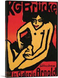 Poster Galerie Arnold in Dresden 1910