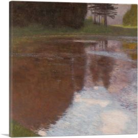 Tranquil Pond 1899
