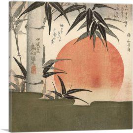 Bamboo and Rising Sun 1829