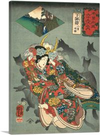 Princess Yaegaki with Fox Shadows